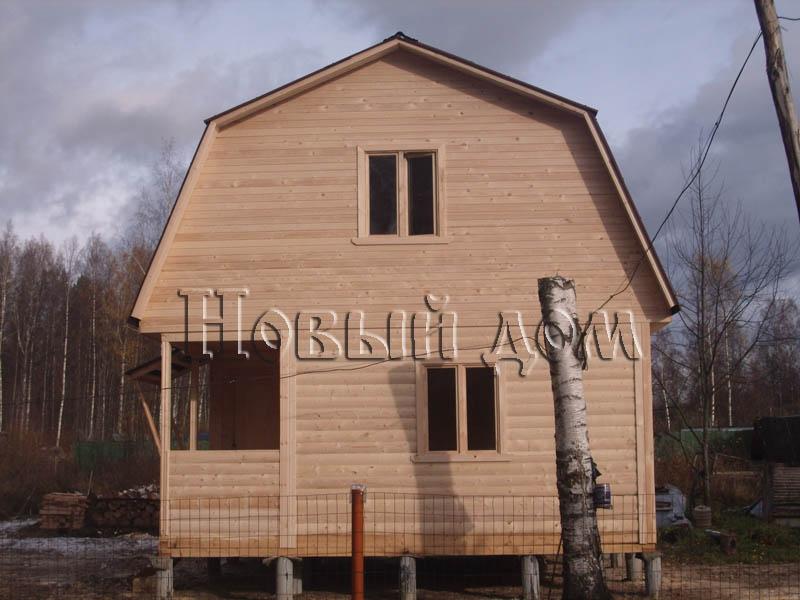 Дома из бруса - дома из бруса под ключ недорого - Фотогалерея Ст…