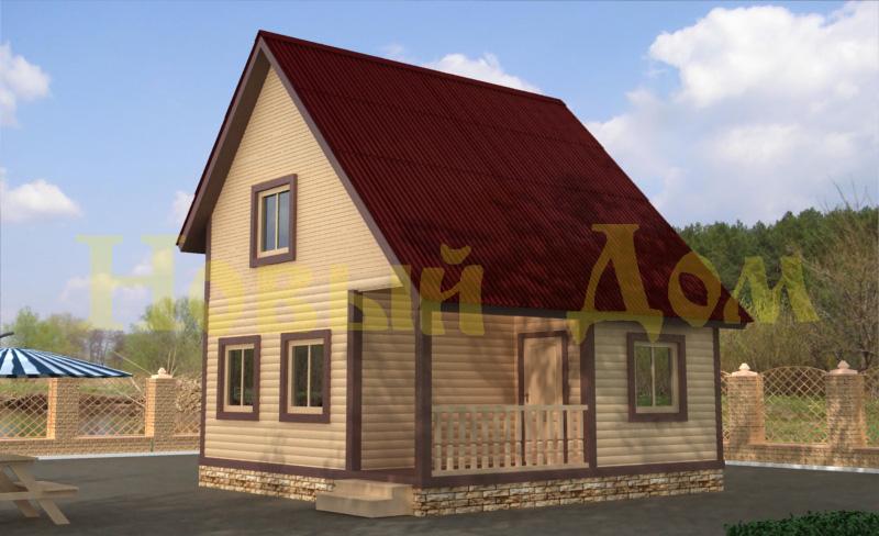 Дачные дома из бруса под ключ, купить в Москве, цены на продажу